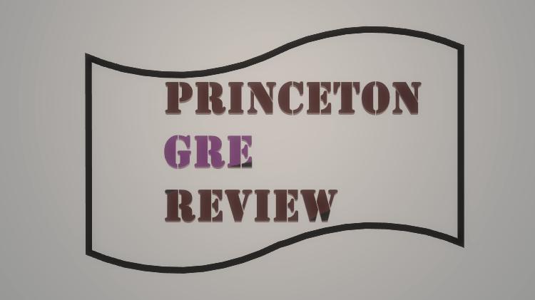 Princeton Review GRE